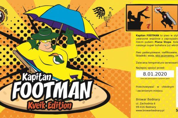 Kapitan Footman Kveik Edition
